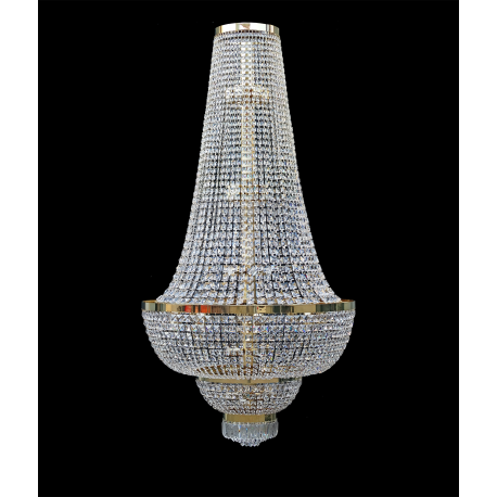 CLASSIC CRYSTAL CHANDELIER