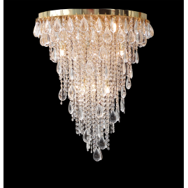CEILING LAMP CRYSTAL FALL