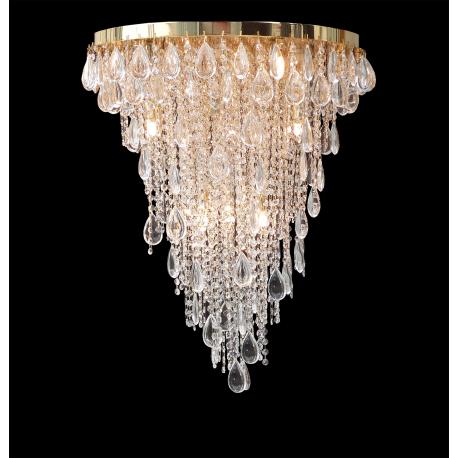 Lampada da soffitto in cristallo for Accessori lampadari cristallo