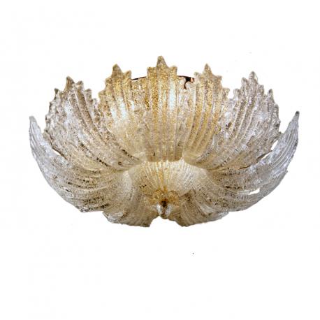 Lampada da soffitto vetro di murano for Graniglia di vetro