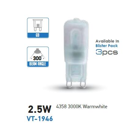 LAMPADINA G9 LED