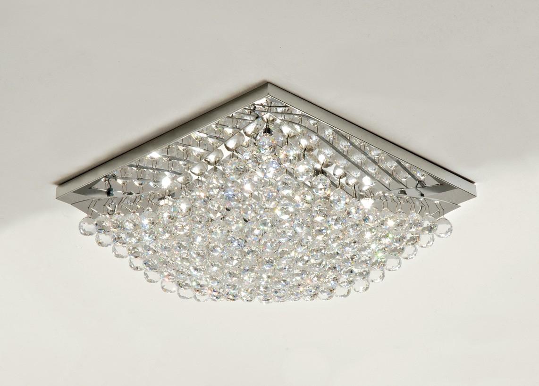 Plafoniere Con Griglia : Lampada da soffitto in cristallo