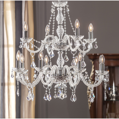 Chandelier Maria Theresa 12 Lights