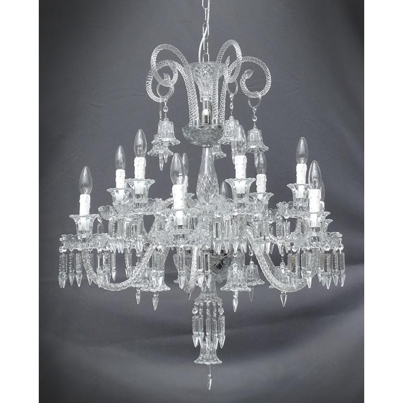 Lampadario maria teresa in cristallo for Accessori lampadari cristallo