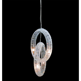 modern crystal lamp